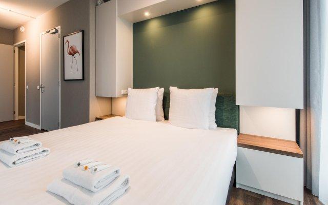 Отель NDSM Serviced Apartments Нидерланды, Амстердам - отзывы, цены и фото номеров - забронировать отель NDSM Serviced Apartments онлайн комната для гостей