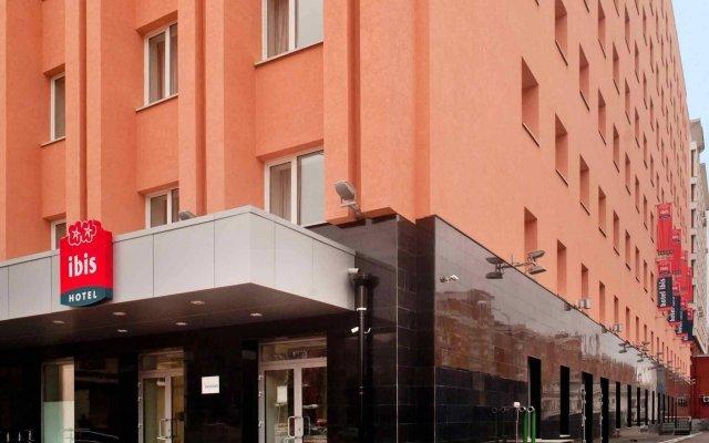 Гостиница ibis Нижний Новгород в Нижнем Новгороде - забронировать гостиницу ibis Нижний Новгород, цены и фото номеров вид на фасад