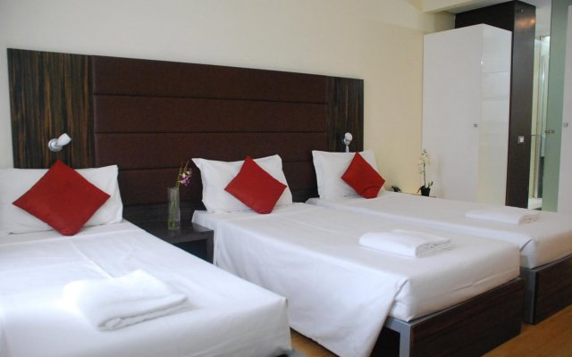 Klick Hotel комната для гостей