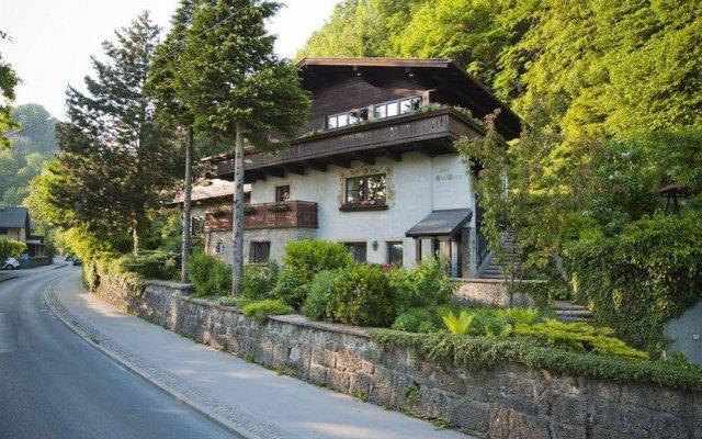 Отель Gastehaus Eva-Maria Австрия, Зальцбург - отзывы, цены и фото номеров - забронировать отель Gastehaus Eva-Maria онлайн вид на фасад