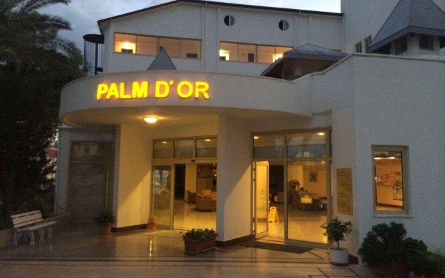 Palm D'or Hotel Турция, Сиде - отзывы, цены и фото номеров - забронировать отель Palm D'or Hotel онлайн вид на фасад