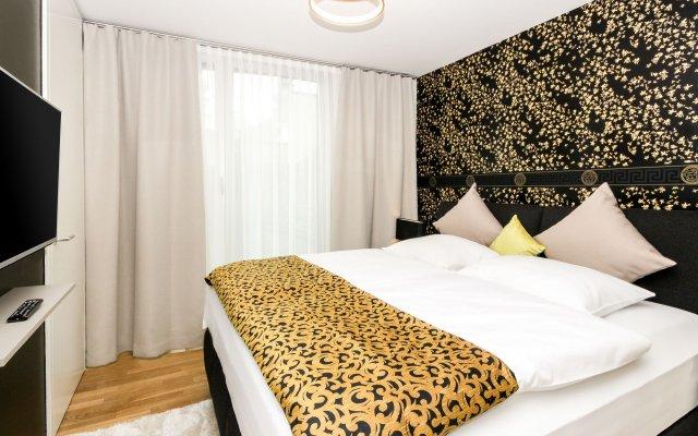 Апартаменты Abieshomes Serviced Apartments - Downtown комната для гостей
