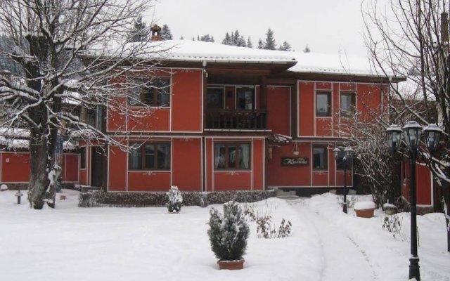 Family Hotel Kalina вид на фасад
