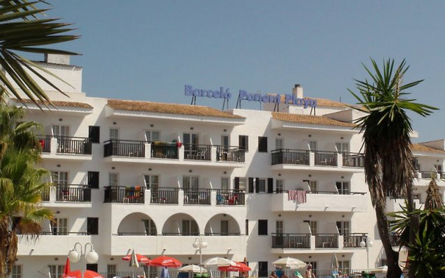 Отель Barceló Ponent Playa вид на фасад