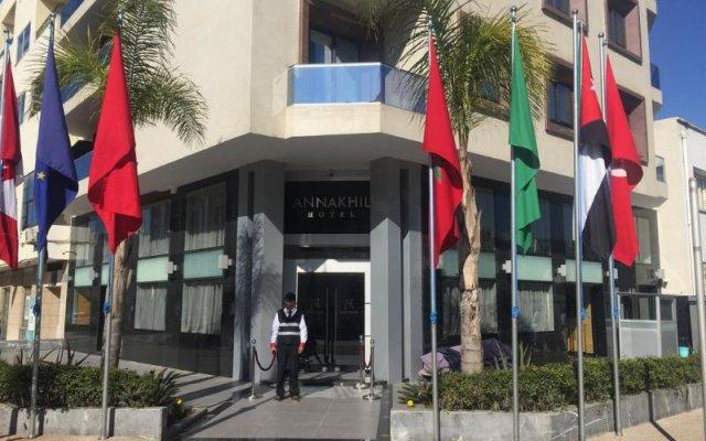 Отель Annakhil Марокко, Рабат - отзывы, цены и фото номеров - забронировать отель Annakhil онлайн вид на фасад