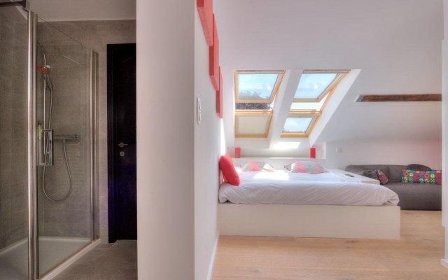 Отель Les Chambres de Franz Бельгия, Брюссель - отзывы, цены и фото номеров - забронировать отель Les Chambres de Franz онлайн комната для гостей
