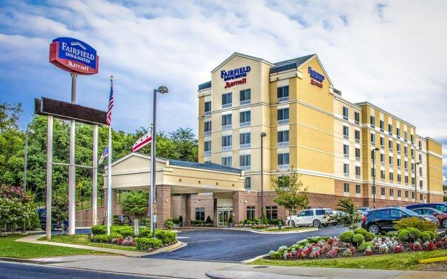 Отель Fairfield Inn by Marriott Washington D.C. США, Вашингтон - отзывы, цены и фото номеров - забронировать отель Fairfield Inn by Marriott Washington D.C. онлайн вид на фасад
