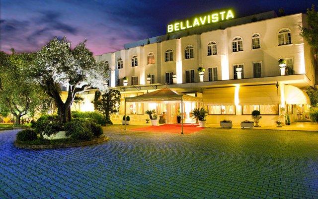 Отель Bellavista Terme Монтегротто-Терме вид на фасад