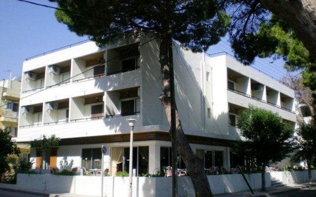Отель Phaethon Hotel Греция, Кос - 1 отзыв об отеле, цены и фото номеров - забронировать отель Phaethon Hotel онлайн вид на фасад