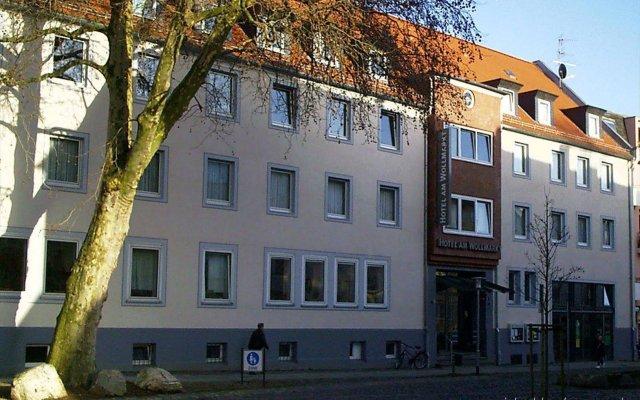 Отель CVJM Hotel am Wollmarkt Германия, Брауншвейг - отзывы, цены и фото номеров - забронировать отель CVJM Hotel am Wollmarkt онлайн вид на фасад