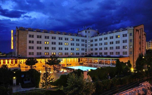 Dinler Hotels Ürgüp Турция, Ургуп - отзывы, цены и фото номеров - забронировать отель Dinler Hotels Ürgüp онлайн вид на фасад