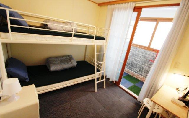 The City Hostel Hongdae комната для гостей