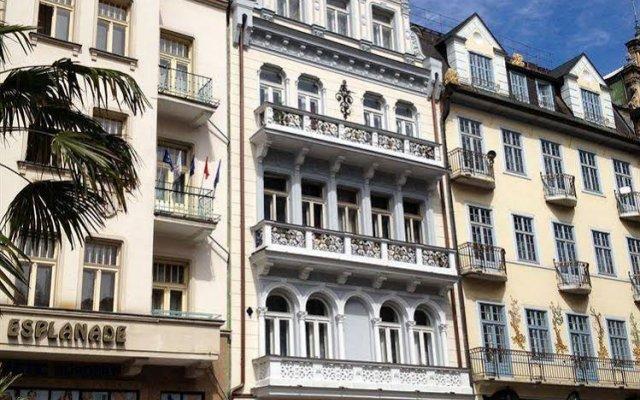 Hotel Kucera вид на фасад