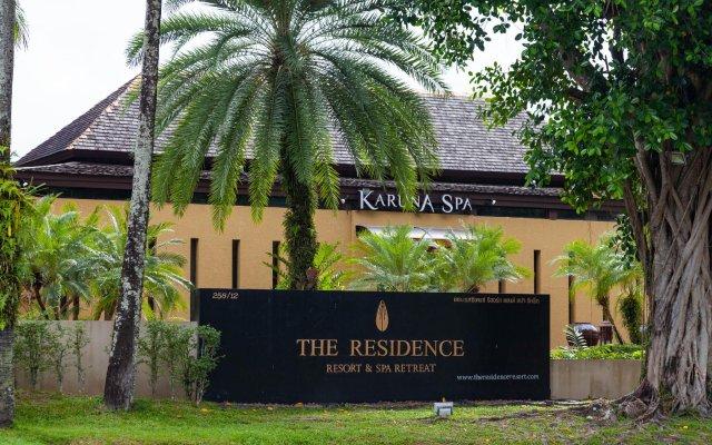 Отель The Residence Resort & Spa Retreat вид на фасад