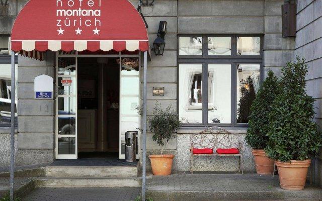 Отель Montana Zürich Швейцария, Цюрих - отзывы, цены и фото номеров - забронировать отель Montana Zürich онлайн вид на фасад