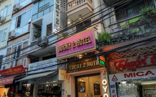 Отель Lucky 2 Hotel - The Original Lucky Chain Вьетнам, Ханой - отзывы, цены и фото номеров - забронировать отель Lucky 2 Hotel - The Original Lucky Chain онлайн вид на фасад