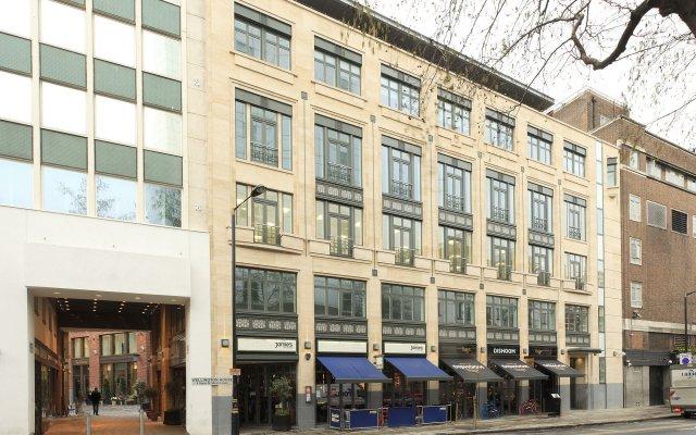 Отель SACO Covent Garden - St Martin's вид на фасад