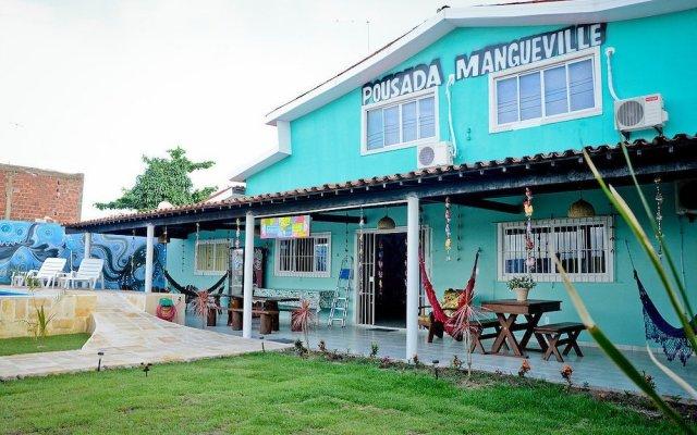 Отель Mangueville вид на фасад