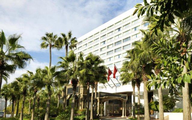 Отель Hyatt Regency Casablanca Марокко, Касабланка - отзывы, цены и фото номеров - забронировать отель Hyatt Regency Casablanca онлайн вид на фасад