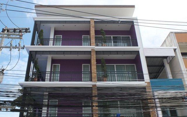 Апартаменты Kaewfathip Apartment Паттайя вид на фасад
