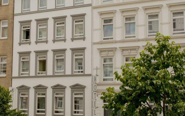 Отель Residence am Hauptbahnhof Германия, Гамбург - 1 отзыв об отеле, цены и фото номеров - забронировать отель Residence am Hauptbahnhof онлайн вид на фасад