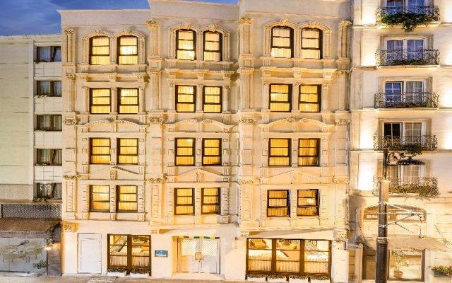 Отель Lalahan вид на фасад