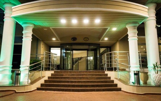 Отель Throne Seagate Belek Богазкент вид на фасад