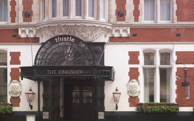 Отель Thistle Holborn, The Kingsley вид на фасад