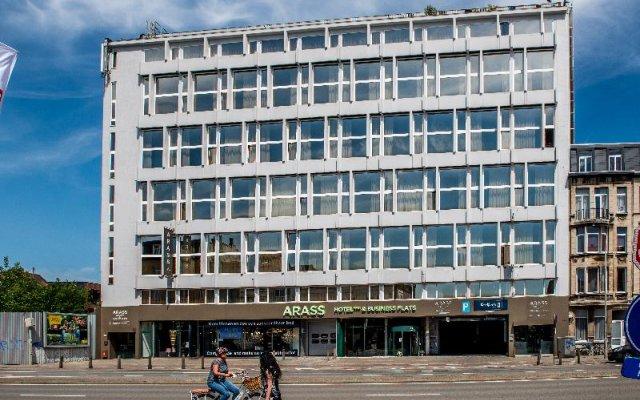 Arass Hotel & Business Flats вид на фасад