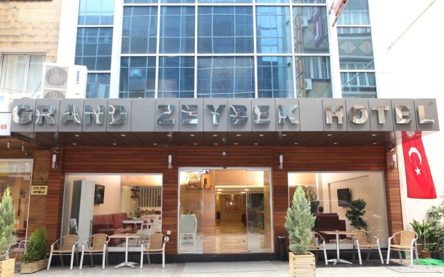Grand Zeybek Hotel Турция, Измир - 1 отзыв об отеле, цены и фото номеров - забронировать отель Grand Zeybek Hotel онлайн вид на фасад
