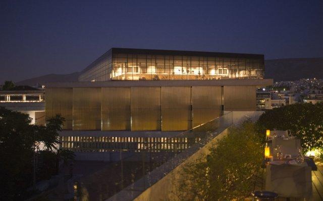 Отель Herodion Athens вид на фасад