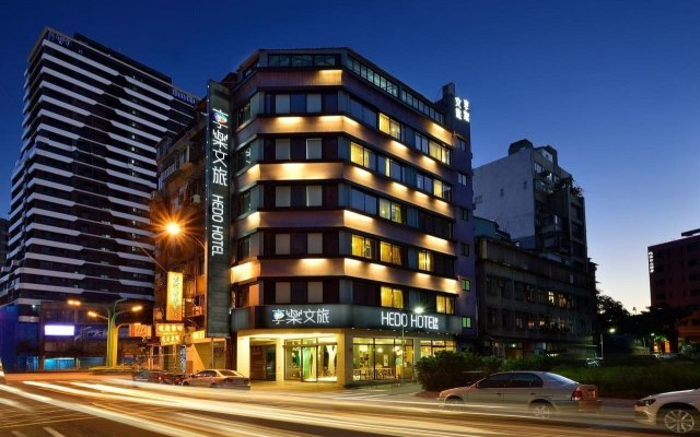 Ximen Hedo Hotel Kangding,Taipei вид на фасад