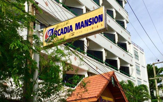 Отель Arcadia Mansion вид на фасад