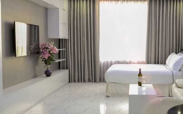 Апартаменты Nha Trang Luxury Serviced Apartment комната для гостей