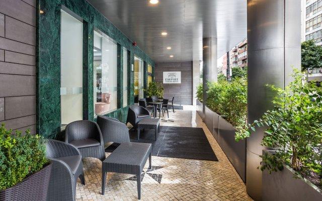 Отель Empire Lisbon Hotel Португалия, Лиссабон - отзывы, цены и фото номеров - забронировать отель Empire Lisbon Hotel онлайн вид на фасад