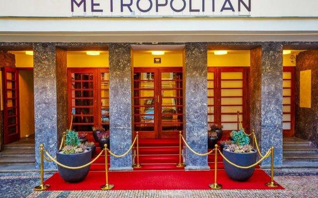 Отель Metropolitan Чехия, Прага - - забронировать отель Metropolitan, цены и фото номеров вид на фасад