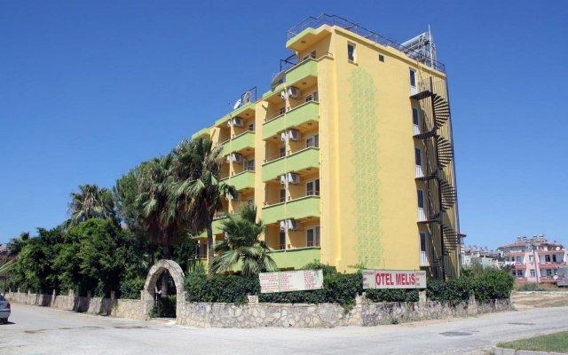 Отель Melis Otel Side вид на фасад