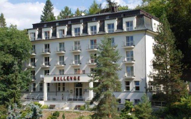 Отель Bellevue Чехия, Карловы Вары - отзывы, цены и фото номеров - забронировать отель Bellevue онлайн вид на фасад
