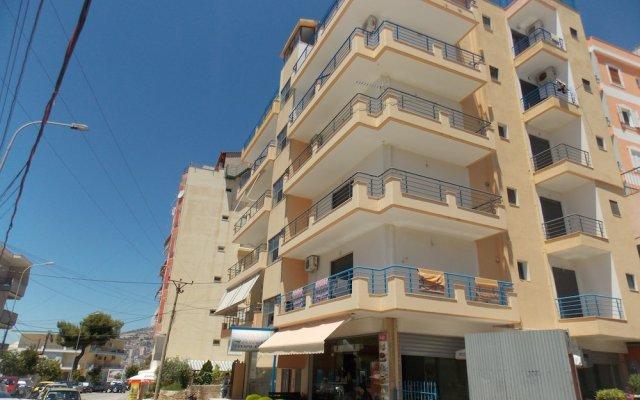 Апартаменты Ionian Beach Studio Саранда вид на фасад