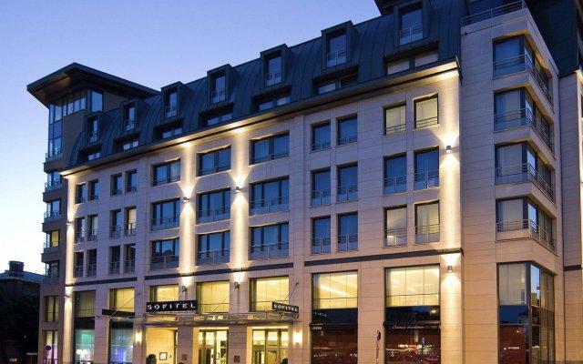 Hotel Sofitel Brussels Europe Брюссель вид на фасад
