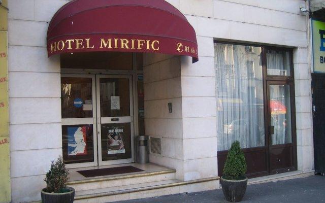 Отель Mirific Opéra вид на фасад