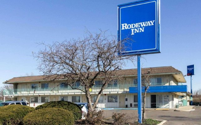 Отель Rodeway Inn (Scarborough Blvd) Колумбус вид на фасад