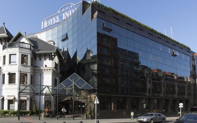 Silken Indautxu Hotel вид на фасад