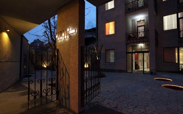 Отель Cascade Yerevan Армения, Ереван - отзывы, цены и фото номеров - забронировать отель Cascade Yerevan онлайн вид на фасад