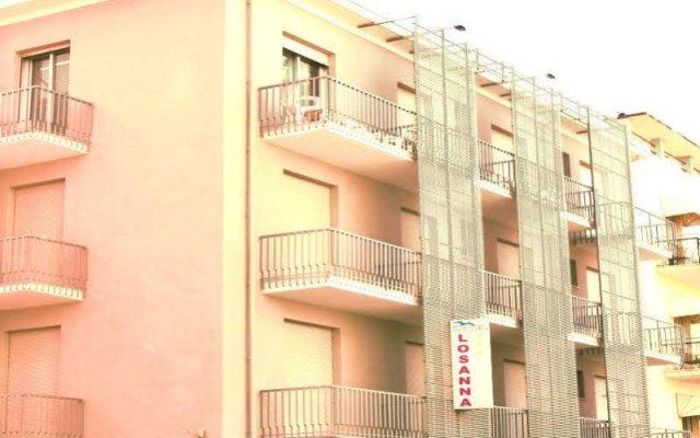 Hotel Losanna вид на фасад