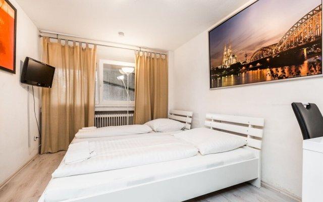 Апартаменты Easy Apartments Cologne Кёльн комната для гостей