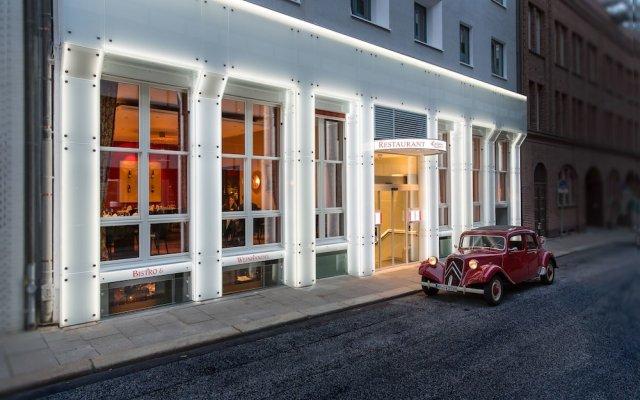 Hotel Baseler Hof вид на фасад