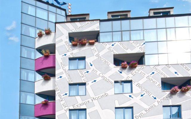 Отель BEST WESTERN City Hotel, BW Premier Collection Болгария, София - 2 отзыва об отеле, цены и фото номеров - забронировать отель BEST WESTERN City Hotel, BW Premier Collection онлайн вид на фасад