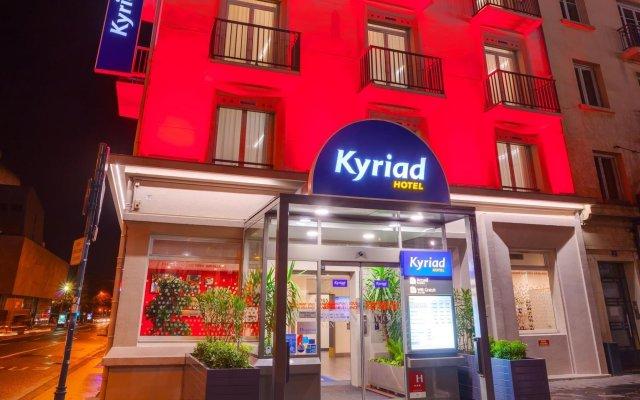 Отель Hôtel Kyriad Rennes вид на фасад