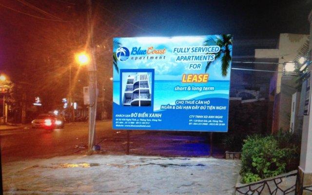 Отель Vung Tau Blue Coast Serviced Apartment Вьетнам, Вунгтау - отзывы, цены и фото номеров - забронировать отель Vung Tau Blue Coast Serviced Apartment онлайн вид на фасад